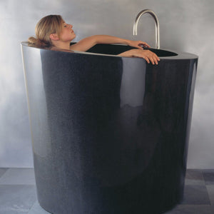 Oval-Soaking-Tub - C44-BL