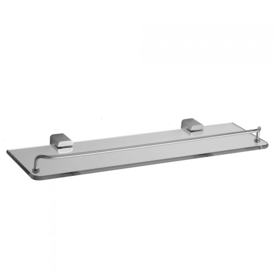 CUBIX II Glass Shelf with Wire Rail - 5401-GS-PCH