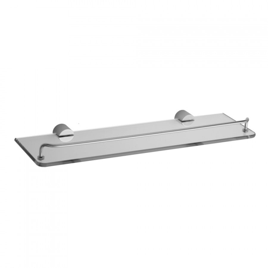 Contempo II Glass Shelf with Wire Rail - 3501-GS