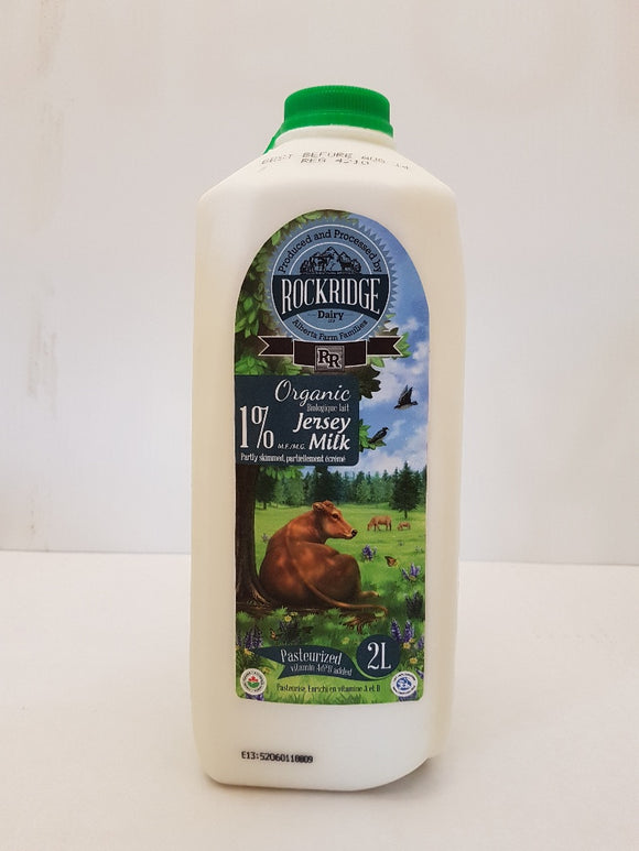 Organic Milk by Rock Ridge Dairy