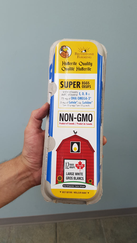 Non GMO Super Eggs by Britestone Farming
