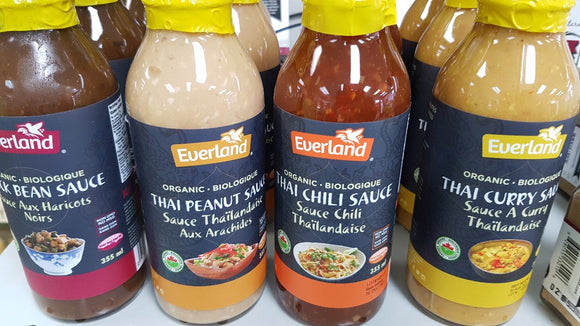 Sauces - Thai, Curry, Black Bean