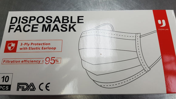 Masks - Disposable 10- or 50