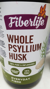 Psyllium Husk - Fiberlife Ground