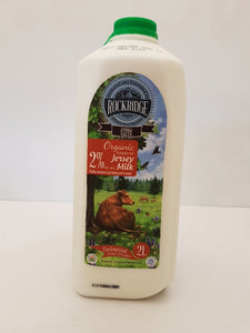 Milk - Organic Jersey Cow Milk by Rock Ridge Dairy DAILY DEAL