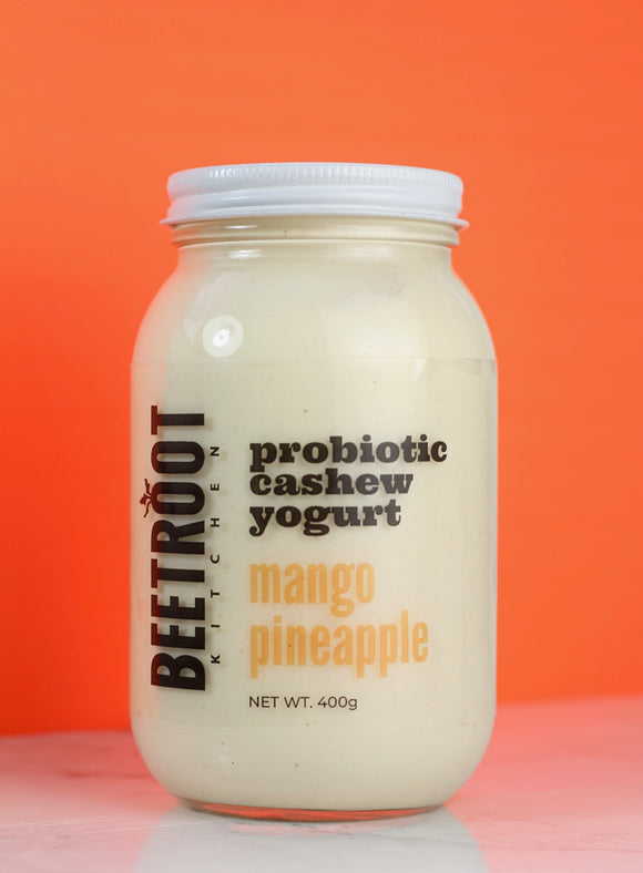 Yogurt - Beetroot/Grassy Dairy Probiotic Cashew Yogurt