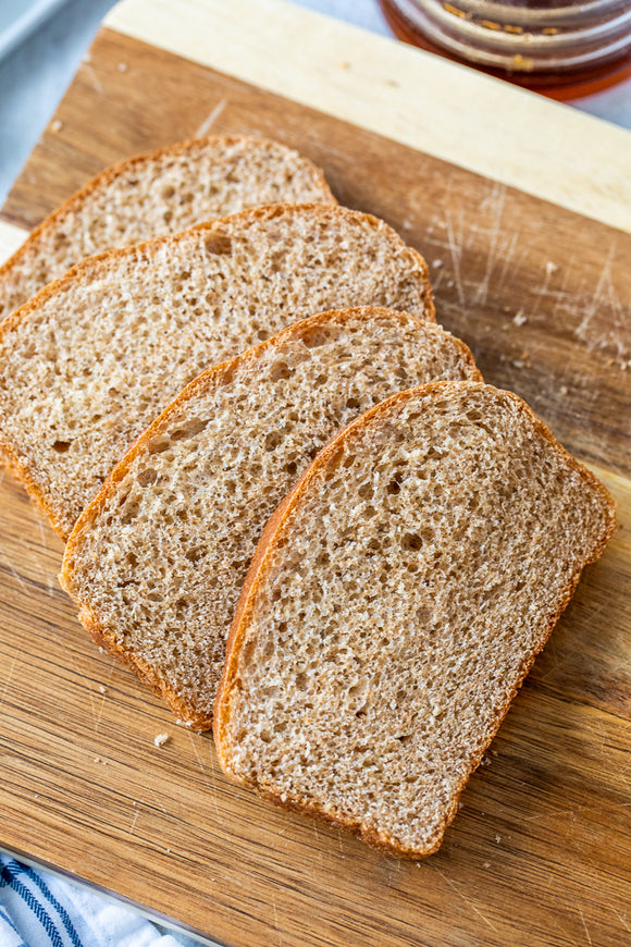 Gluten Free Bread - Whole Wheat