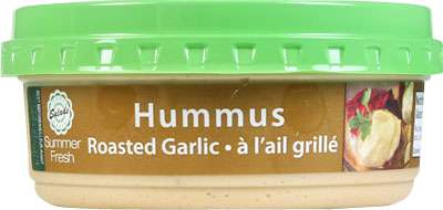 Hummus - Plain and Garlic