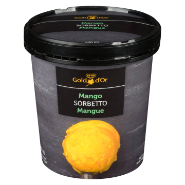 Sorbetto - Mango or Raspberry