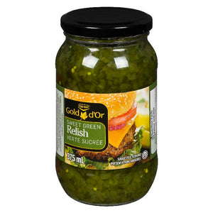 Relish - Green or Hot Dog by The Cucumber Man
