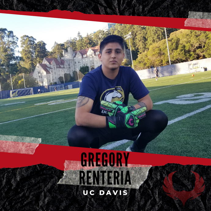 Meet Renegade Sponsored GK Gregory Renteria