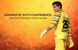 dominate with confidence slider - confident goalkeeper