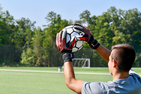 Proper catching technique is critical for youth goalkeepers