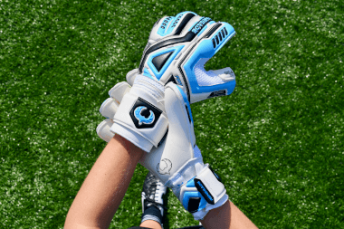 Renegade GK Fury Sub Z GK Gloves Showing Backhand