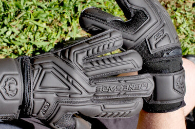 Renegade GK Fury Nightfall Gloves Backhand and Wrist Strap