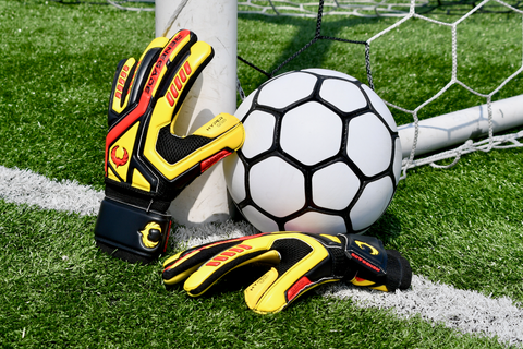 renegade gk talon revolt gloves with soccer ball