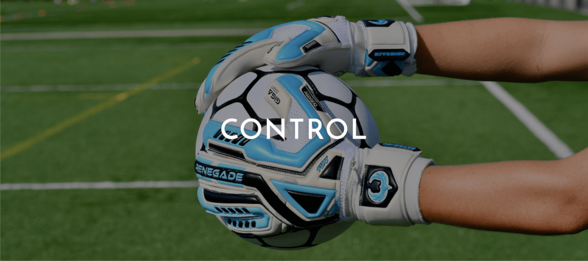 Renegade GK Gloves for Maximum Ball Control