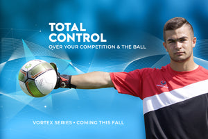 total control slider - goalkeeper holding the ball with 1 hand