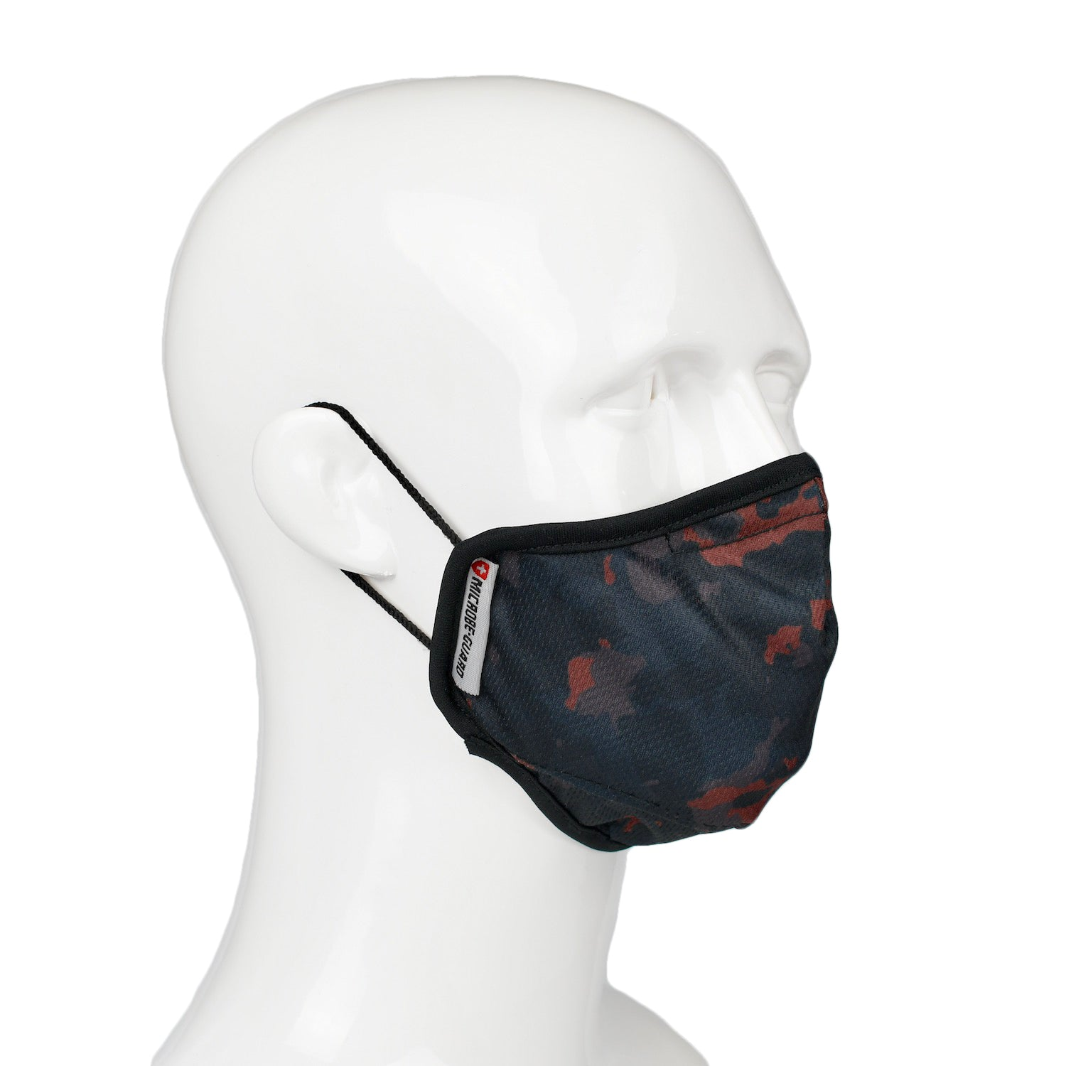 Aegis 2 Dark Red Camo Performance Face Mask with Microbe-Guard™