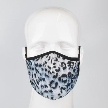 Aegis 2.0 Cheetah/Leopard Form-Fitting Performance Face Mask with Microbe-Guard