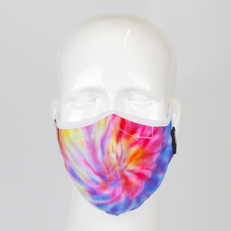 Aegis 2.0 Tie Dye Burst Form-Fitting Performance Face Mask with Microbe-Guard
