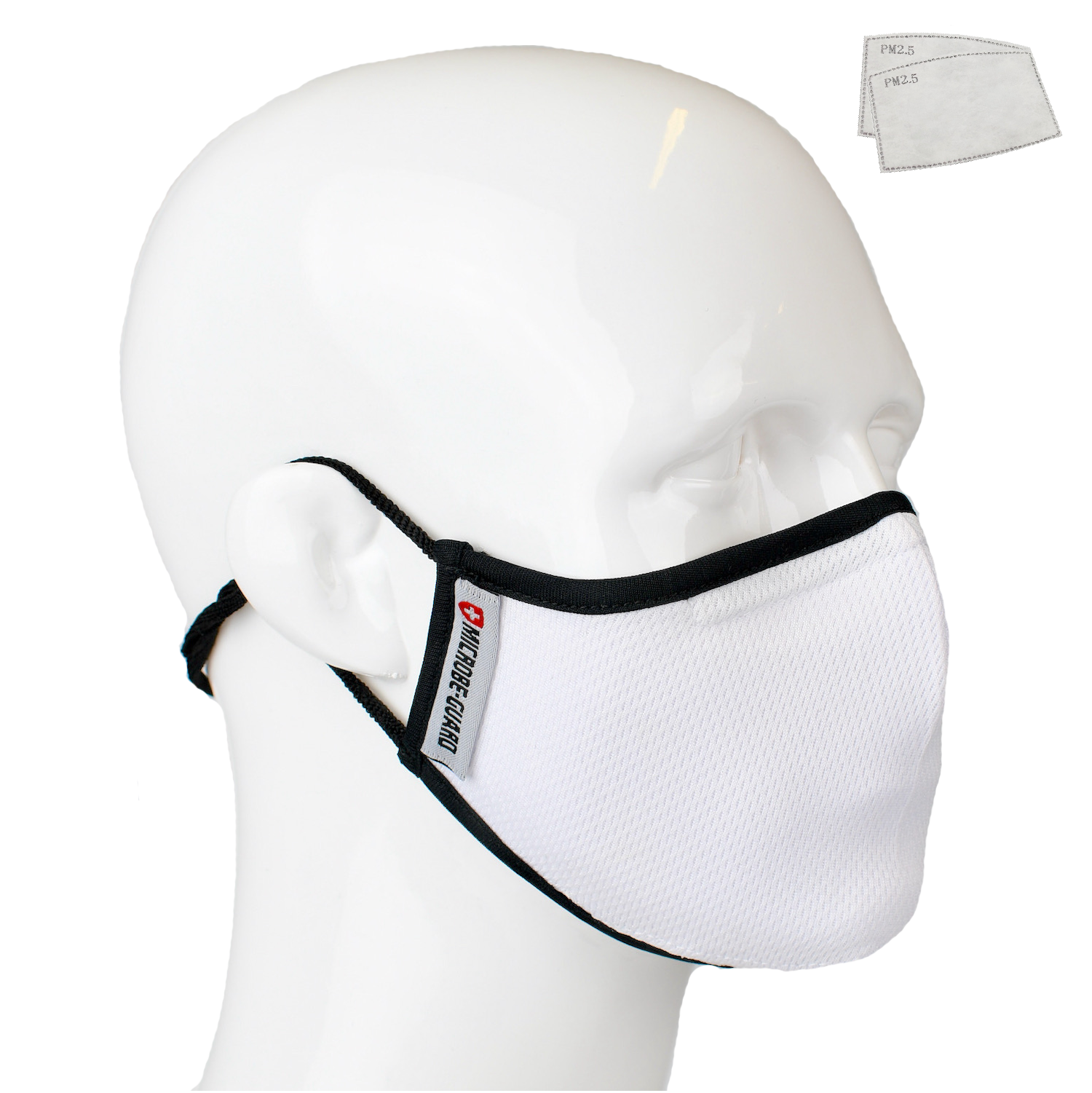 Aegis 2 White Solid Performance Face Mask with Microbe-Guard™