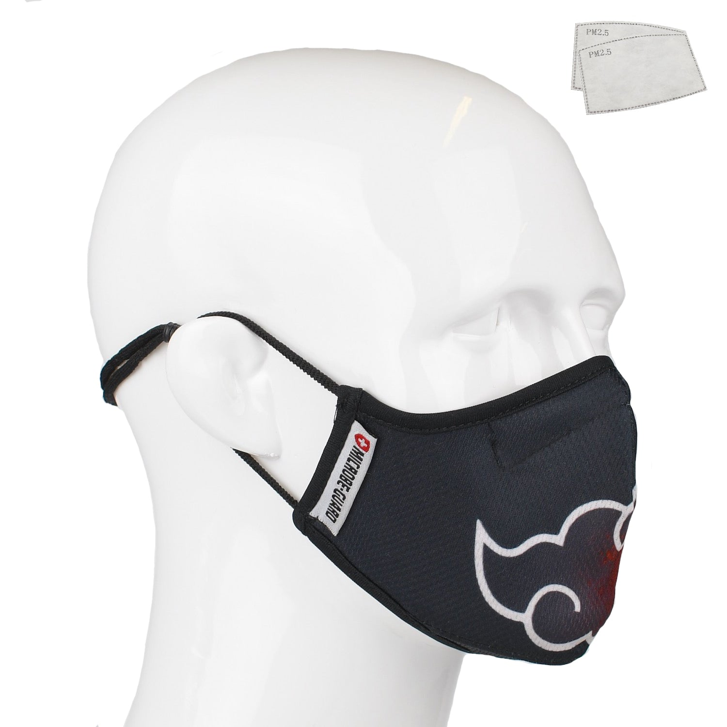 Aegis 2.0 Anime N. Form-Fitting Performance Face Mask with Microbe-Guard