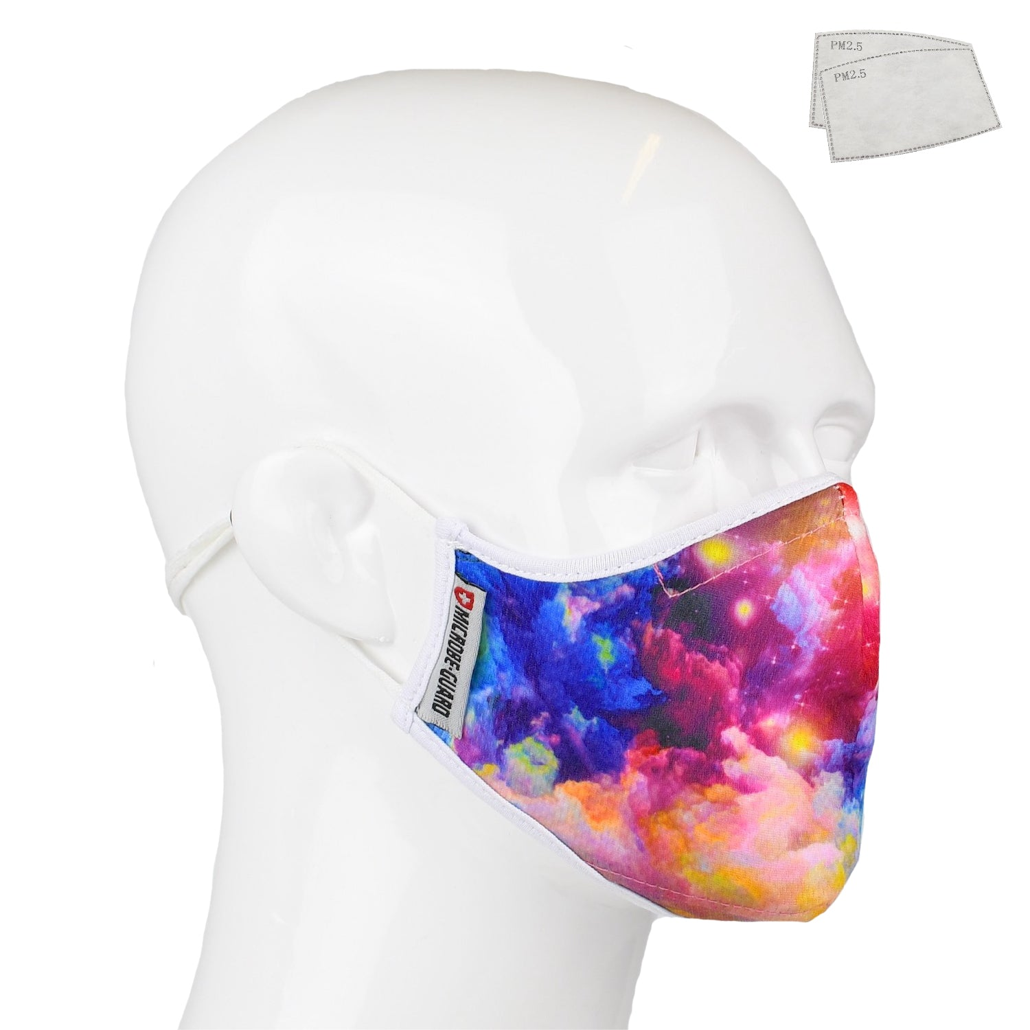 Aegis 2 Color Galaxy Performance Face Mask with Microbe-Guard