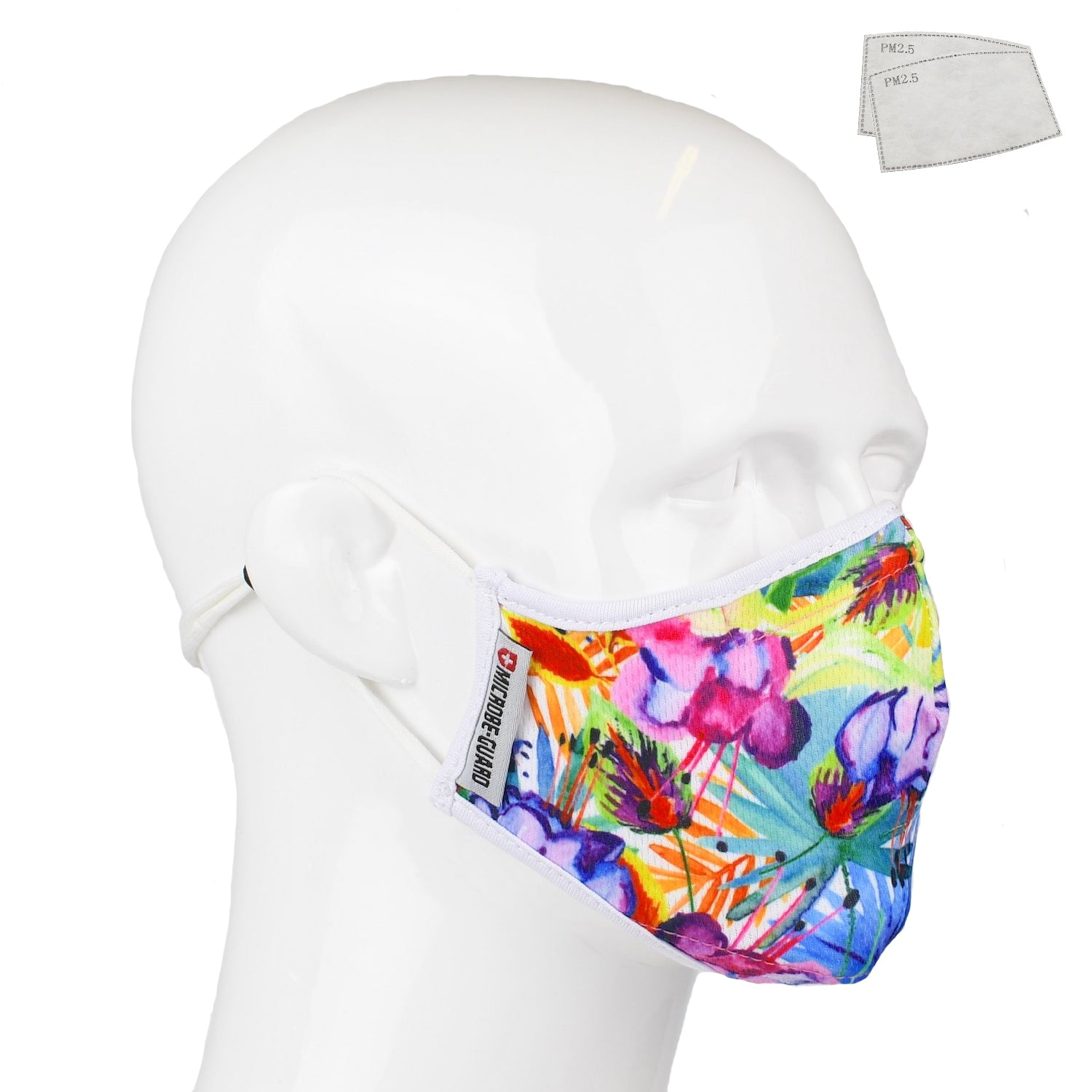 Aegis 2 Floral Jungle Performance Face Mask with Microbe-Guard
