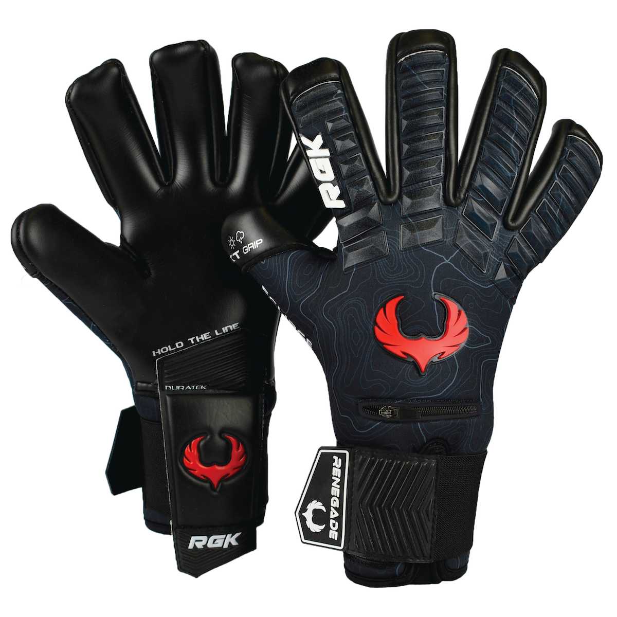 Sizes 6-11, 3 Styles, Level 3 3.5+3mm Hyper Grip /& Super Mesh Based in The USA Renegade GK Vortex Goalie Gloves with Microbe-Guard Excellent All-Around Goalkeeper Glove