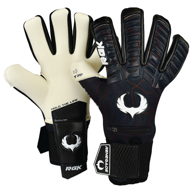 Renegade GK Eclipse Assault Goalie Gloves Backhand and Palm
