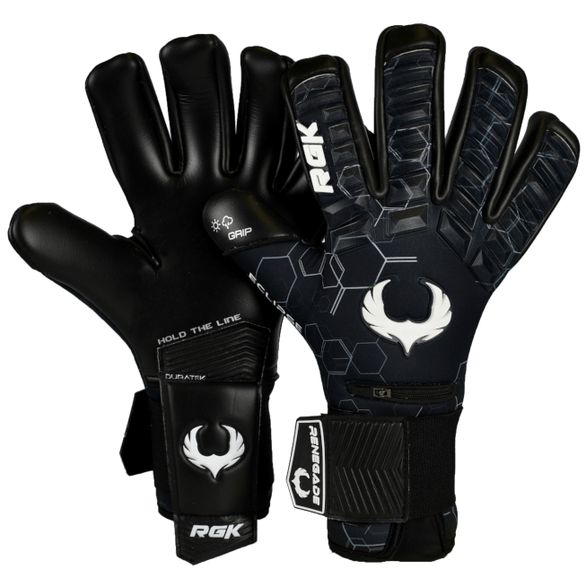 Renegade GK Eclipse Helix Gloves Backhand and Palm View