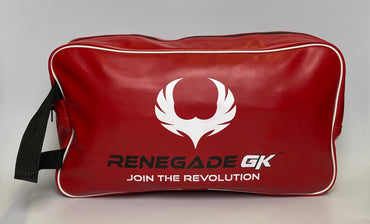 Weatherproof Goalkeeper Glove Bags - Red & Black