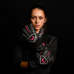 female goalkeeper wearing triton frenzy