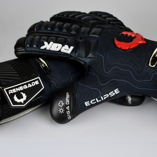 Renegade GK Eclipse Ambush Keeper Gloves Stacked