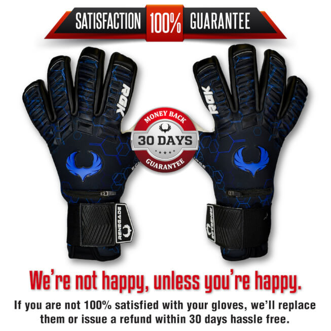 Renegade GK Eclipse Frost Goalkeeper Gloves Guarantee banner