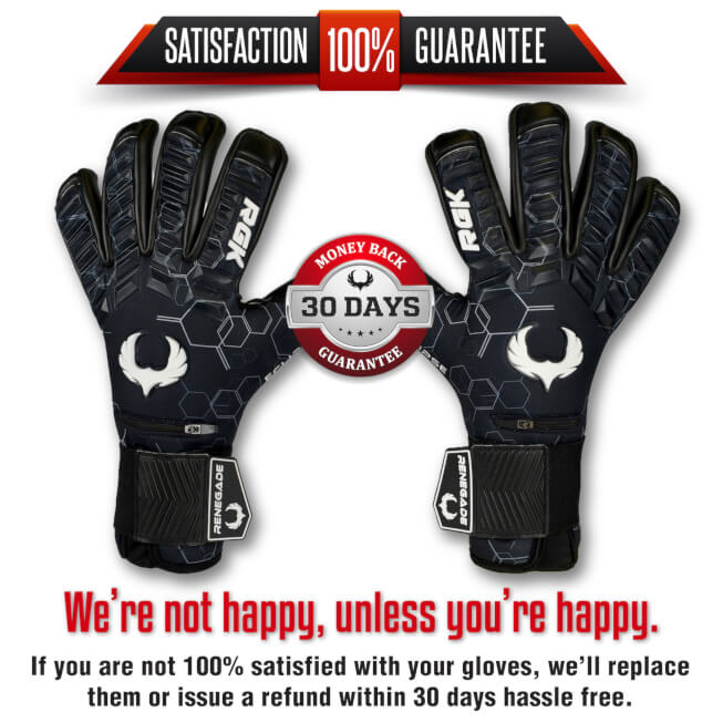 Renegade GK Eclipse Helix Goalkeeper Gloves Guarantee banner