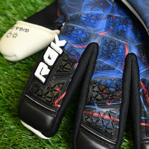 Renegade GK Rogue Guardian Goalkeeper Gloves Backhand Close Up