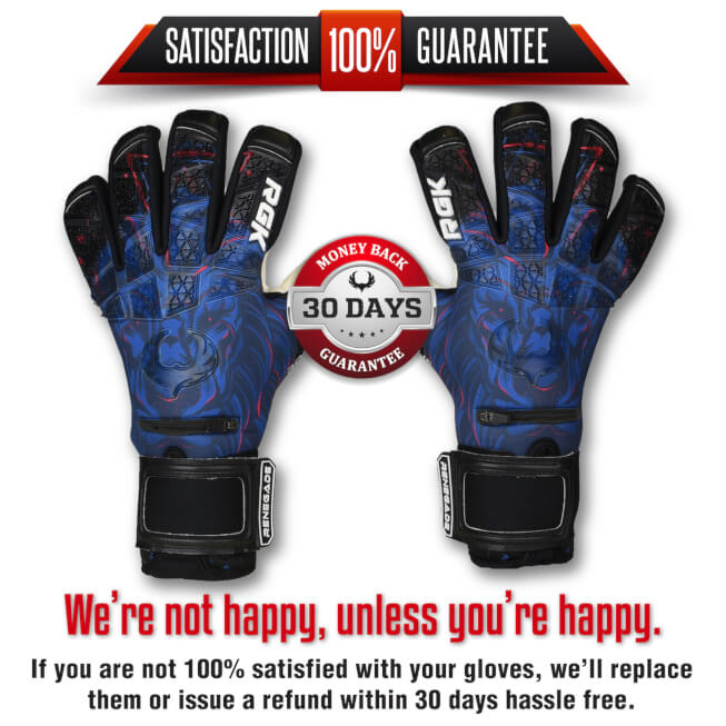 Renegade GK Rogue Guardian Goalkeeper Gloves Guarantee banner