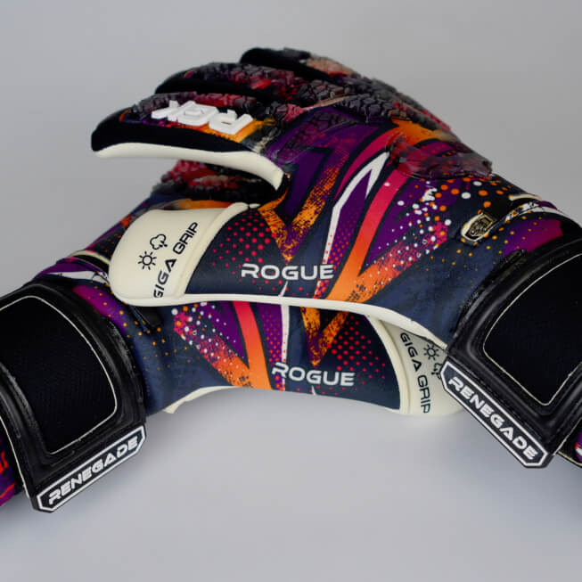 Renegade GK Rogue Slash Keeper Gloves Stacked