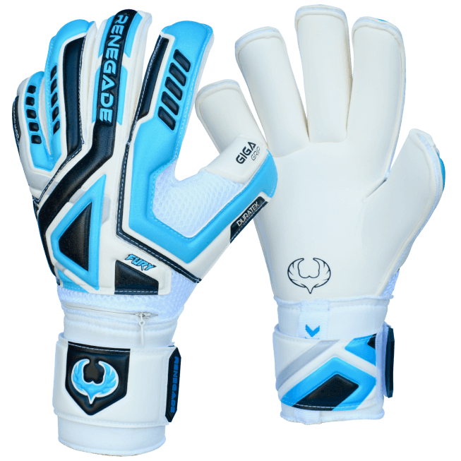 Renegade GK Fury Sub Z Gloves Backhand and Palm View