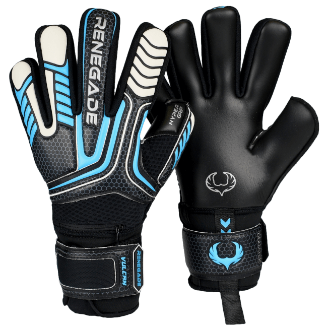 Renegade GK Vulcan Trident Gloves Backhand and Palm View