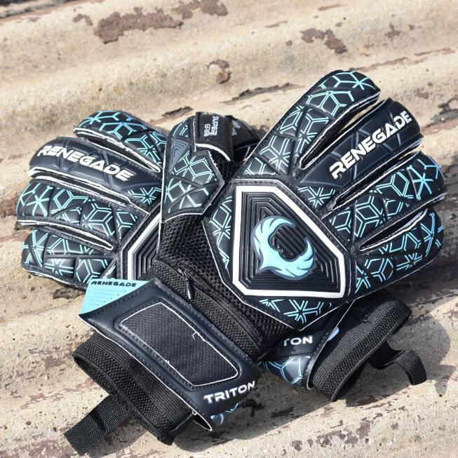 Triton Specter Goalkeeper Gloves Field Image