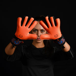 female goalkeeper wearing vortex salvo