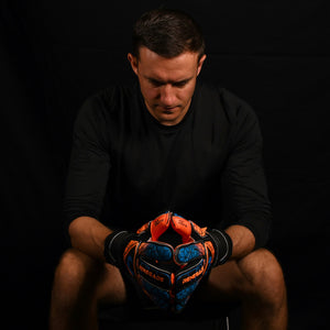 male goalkeeper wearing vortex salvo