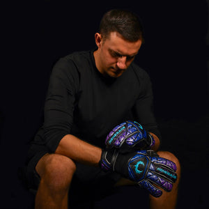 male goalkeeper wearing vortex storm