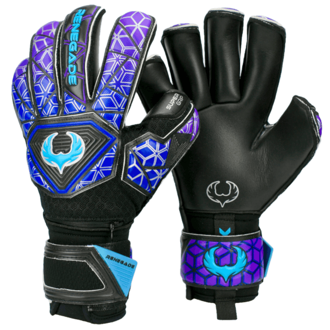 Renegade GK Vortex Storm Gloves Backhand and Palm View