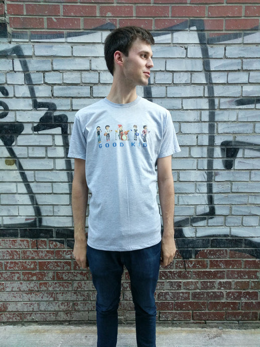 Good Kid Grey Pixel T-Shirt