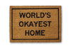 world's okayest home doormat