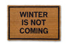 winter is not coming doormat